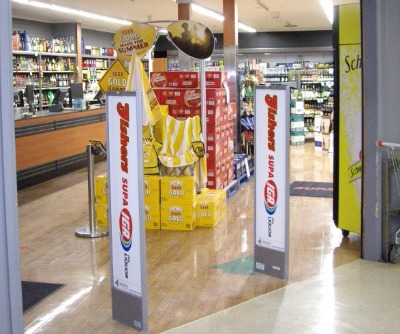 how to prepare labels for retail products in store